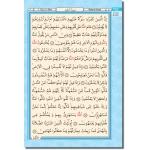 4 Renk Kur'an-ı Kerim Rahle Boy ( 20 x 28 cm )