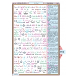 Kur'an-ı Kerim Renkli Kelime Meali Rahle Boy 20 x 28 cm