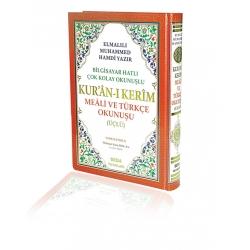 Kur'an-ı Kerim Meali ve Türkçe Okunuşu(üçlü)  Camii Boy