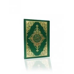 4 Renk Kur'an-ı Kerim Rahle  Boy ( 20 x 28 cm )(KARE KODLU SESLİ KURAN UYGULAMALI)