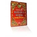 Kur'an-ı Kerim Renkli Türkçe Okunuşlu Camii Boy 24 x 33 cm