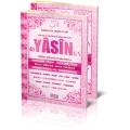 fihristli orta boy 192 sayfa pembe renkli türkçe okunuşlu ,arapça ,ve mealli yasini yerif
