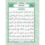 fihristli orta boy 192 sayfa yeşil renkli türkçe okunuşlu ,arapça ,ve mealli yasini yerif(50 ve üzeri alımlarda fiyat 6,5 tl)